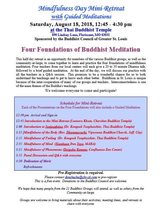 MindfulnessMiniRetreat2018